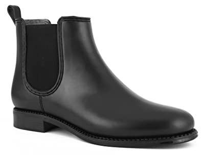 MaxMuxun Women Shoes Waterproof Ankle Chelsea Boots