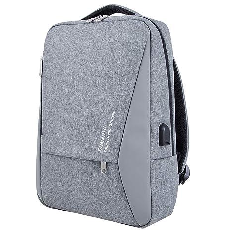 Mochila para Portátiles 14-15,6 Carga USB Antirrobo Mochilas Negocio Backpack