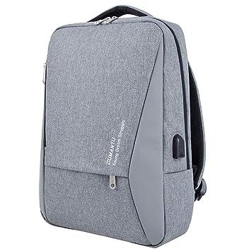 48cb486cce WZTP Sac à Dos pour Ordinateur Portable, Backpack USB Charging Port 14-15.6'