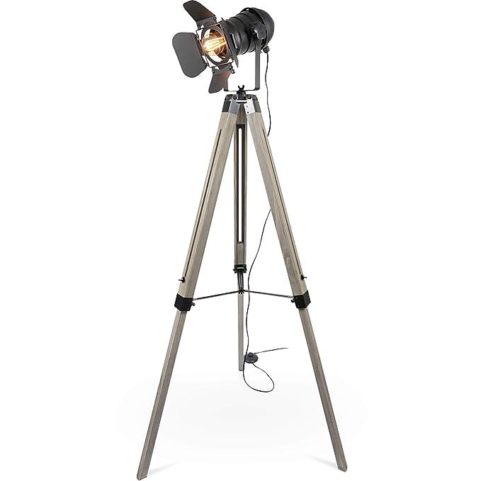 Tischleuchte Tischlampe Scheinwerfer Form Foto-Studio Tripod Lampe mit Stativ