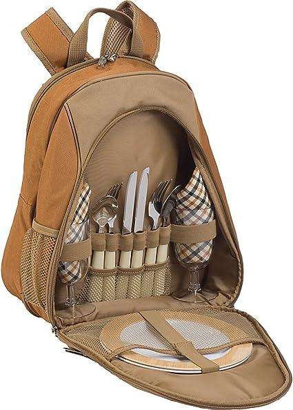 Picnic Plus Fairmont Picknick-Rucksack f/ür 2 Personen