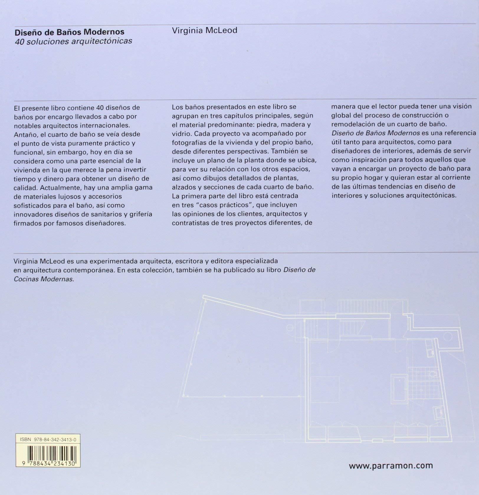 Diseño de baños modernos : 40 soluciones arquitectónicas ...