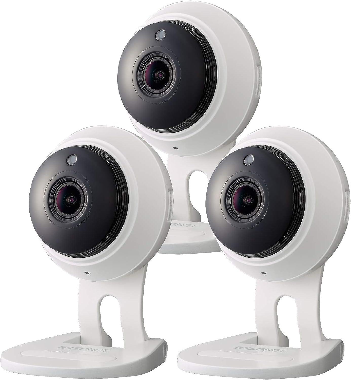 SNH-C6417BN - Samsung Wisenet SmartCam 1080p Full HD Plus Wi-Fi Camera Triple Pack