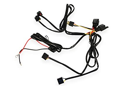 Amazon Com Dapper Lighting Dlrh4 H4 Relay Harness 4 Headlight