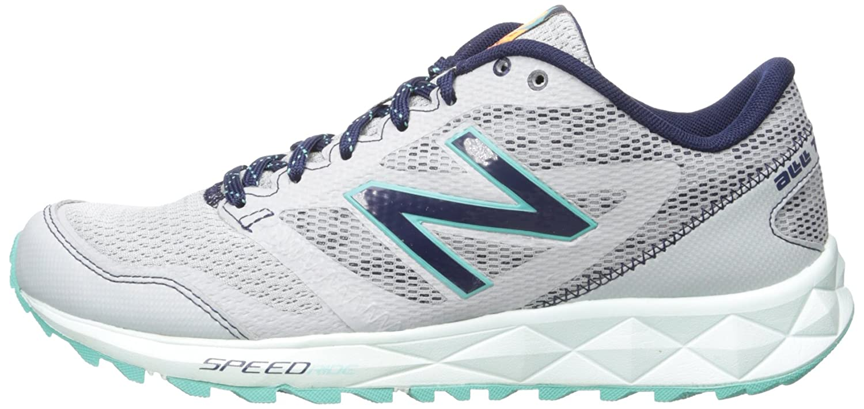 New Balance Women's 590 Trail Running Shoe, GreyNavy, 9.5 D