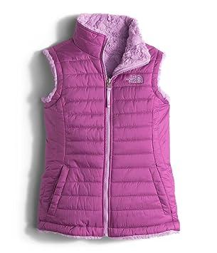 35025df993e5 The North Face Reversible Mossbud Swirl Vest Girls  Wisteria Purple L   Amazon.ca  Sports   Outdoors
