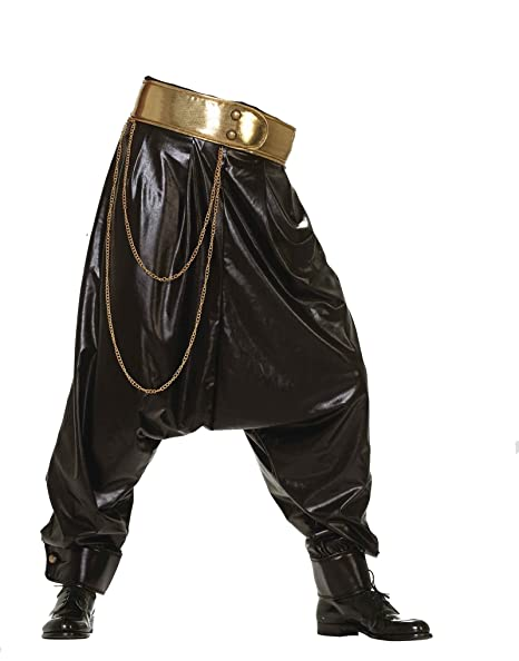 new release entire collection exclusive shoes Amazon.com: Forum Novelties F64370 Rap Star Pants Black ...