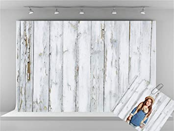Kate 10x6.5ft Microfiber Gray Wood Photography Backdrops Rustic Wooden Background Children Baby Shower Backdrop for Photography