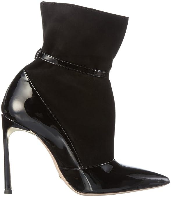 Sebastian S7126, Damen Kurzschaft Stiefel, Schwarz (VNE/CN/RBL), 39 EU:  Amazon.de: Schuhe & Handtaschen