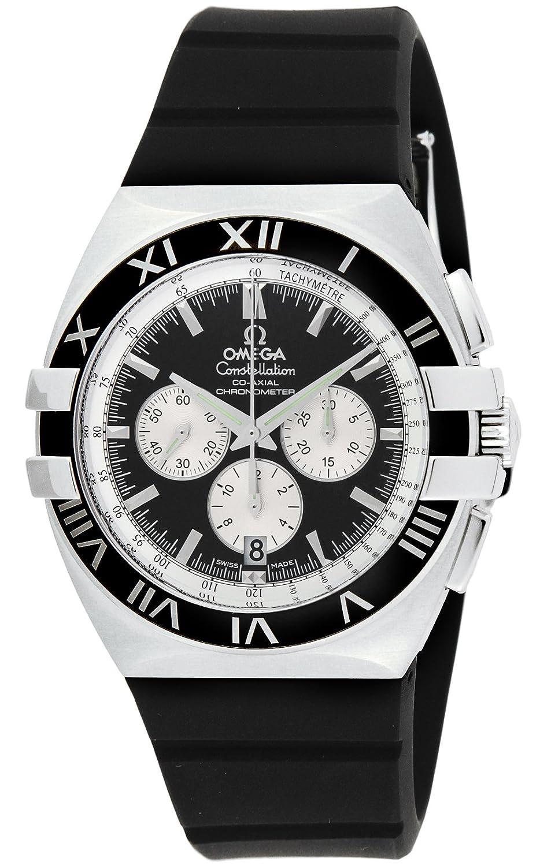 [オメガ]OMEGA 腕時計 コンステレーションダブルイーグル ブラック文字盤 自動巻 コロノグラフ 100M防水 1819.51.91 メンズ 【並行輸入品】 B005GMOZPI