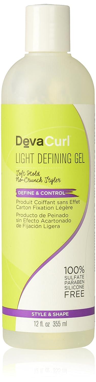DevaCurl Light Defining Gel, 12 Fluid Ounce 662040