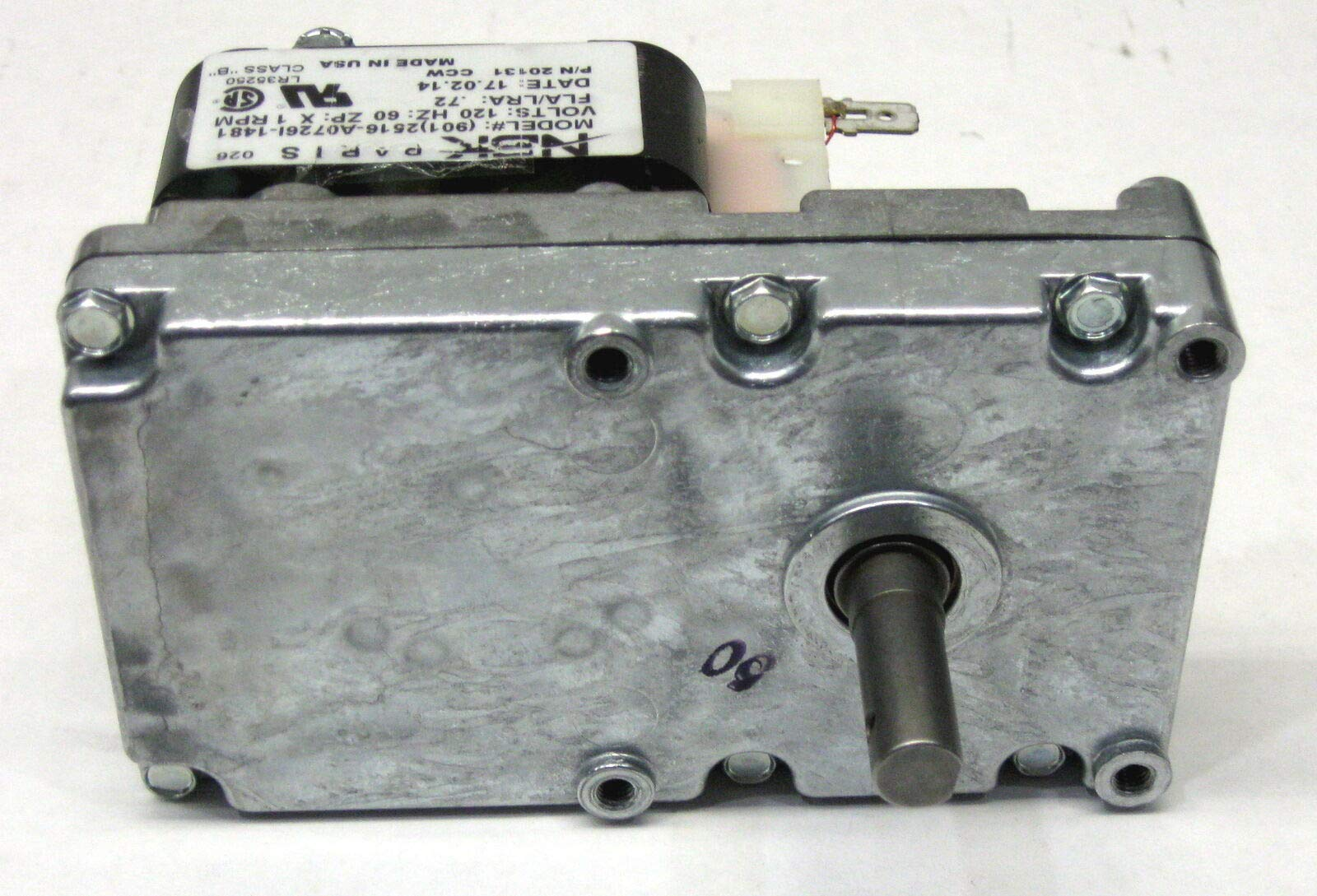 YCJ PU-047040 for Englander Pellet Stove Auger Gear Feed Motor by YCJ