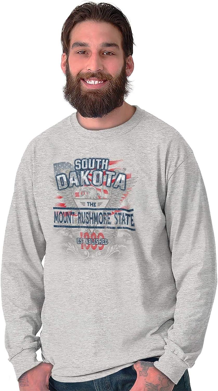 South Dakota State American Eagle USA Camiseta de Manga Larga: Amazon.es: Ropa y accesorios