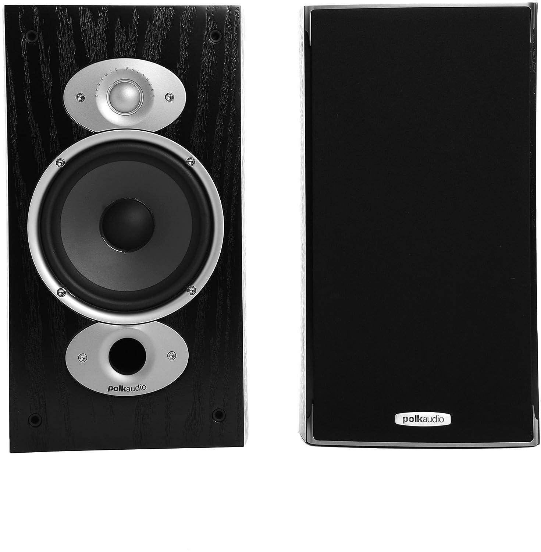 amazon com polk audio rti a3 bookshelf speakers pair black home rh amazon com