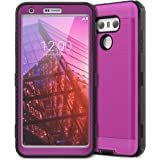LG G6 Case, CinoCase LG G6 Plus Case Heavy Duty Protective Case Hybrid TPU Bumper Shockproof Case with Brushed Metal…