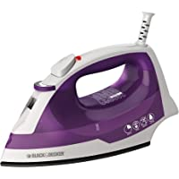 BLACK+DECKER Steam Iron, Tangle-Free Retractable Cord