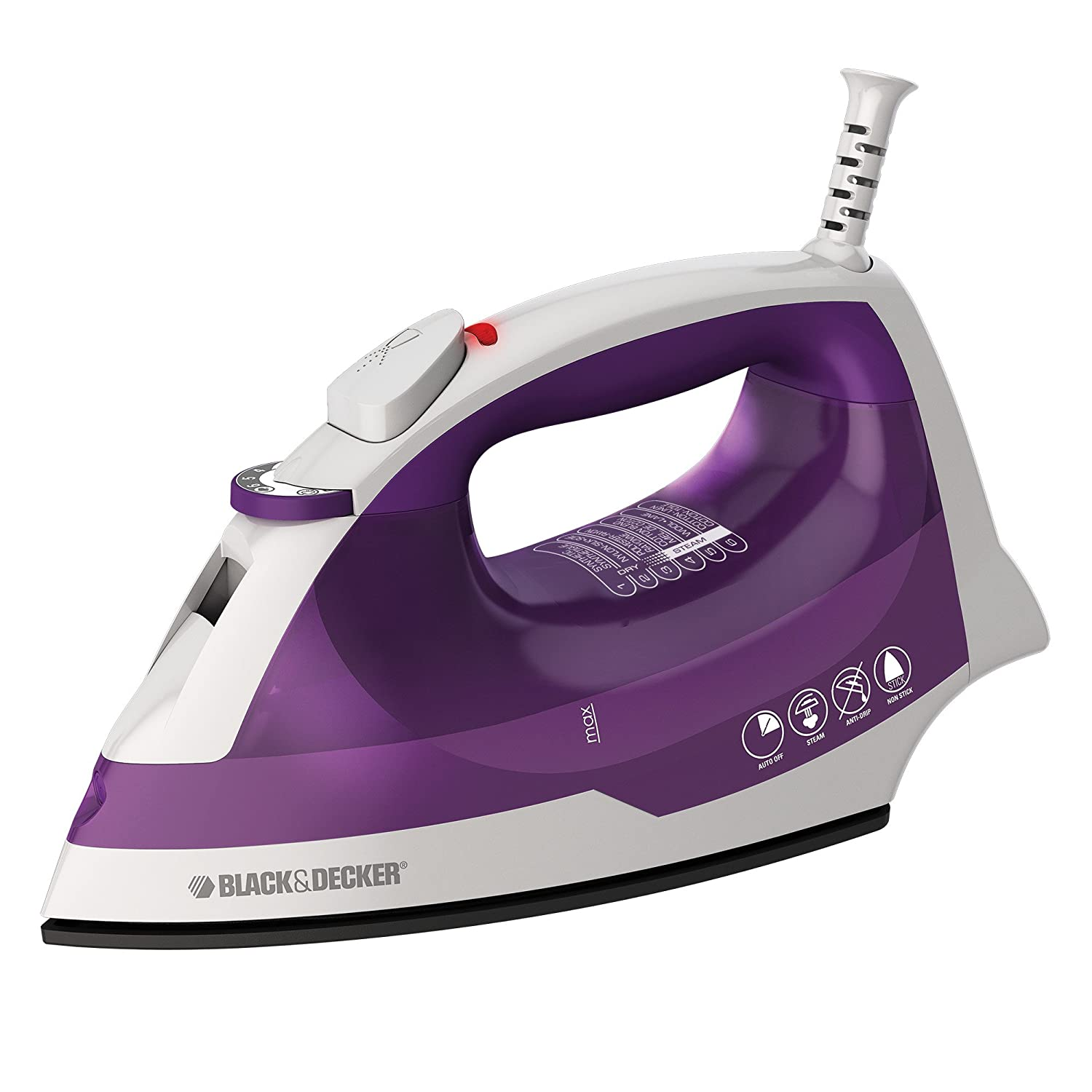 BLACK+DECKER Steam Iron, Green, IR06XC Black & Decker