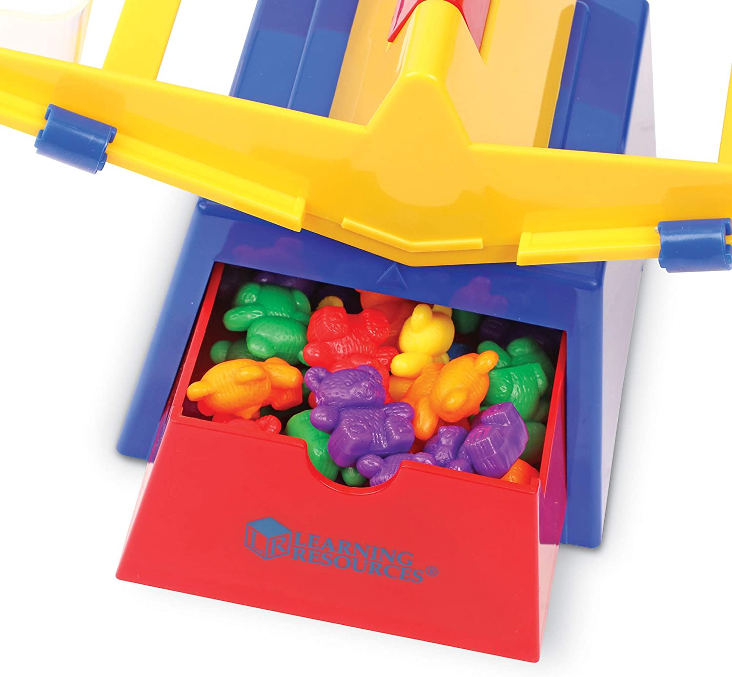 Learning Resources Primary Bucket Balance with Baby Bear Counters