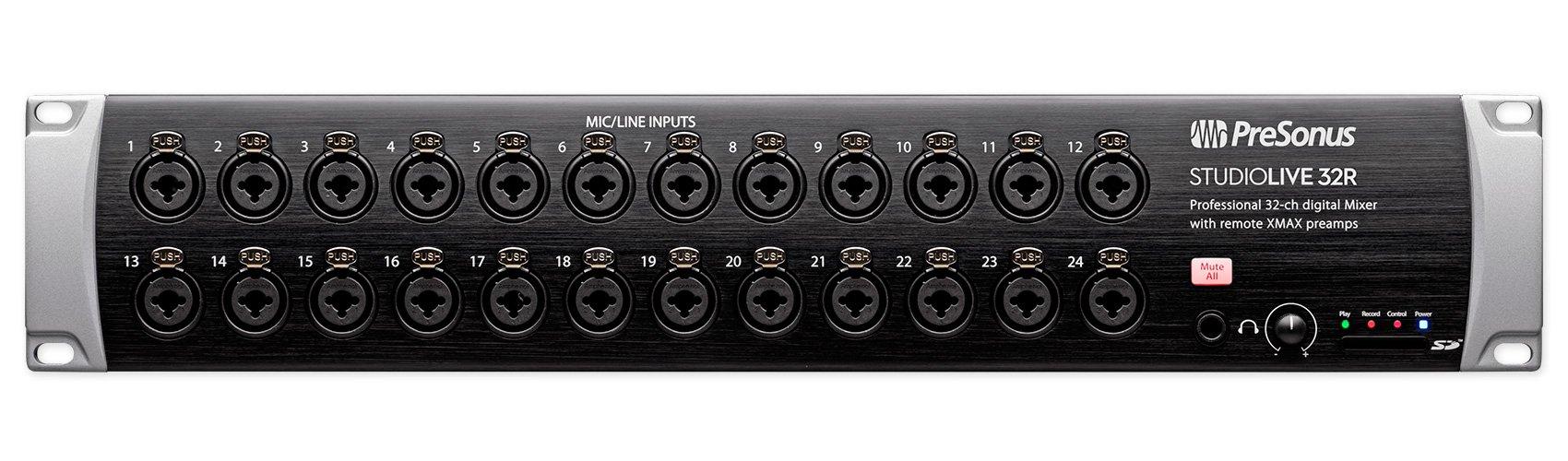 PreSonus StudioLive 32R 34-input, 32-channel Series III stage box and rack mixer