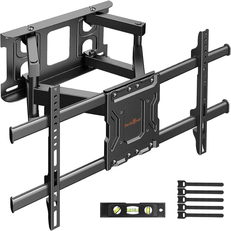 Soporte TV de Pared Articulado Inclinable y Giratorio para Pantallas de 37-70 Pulgadas, hasta 60 kg, MAX VESA 600x400mm