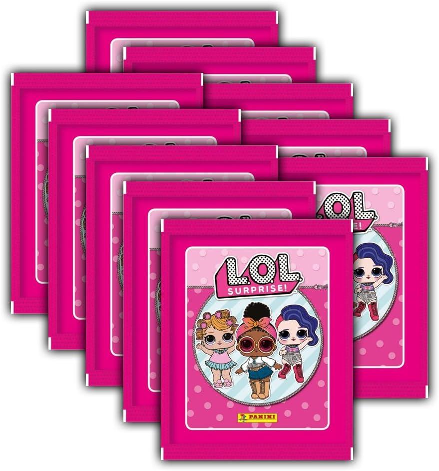 Panini De l.o.l. Surprise stickerko llektion – 10 Booster Paquetes: Amazon.es: Juguetes y juegos