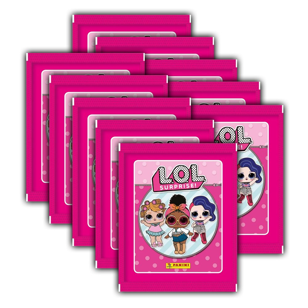 - L.O.L. Surprise cm Llektion – 10 Booster Packs Panini