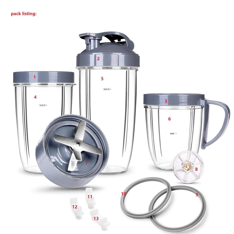 Amazon.com: Kit de piezas de repuesto de lujo para vasos y ...