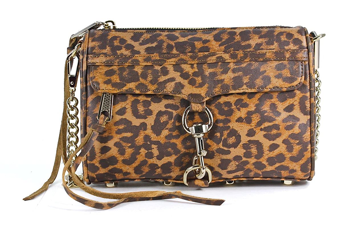Rebecca Minkoff Women's Animal Print Mini Mac by Rebecca+Minkoff