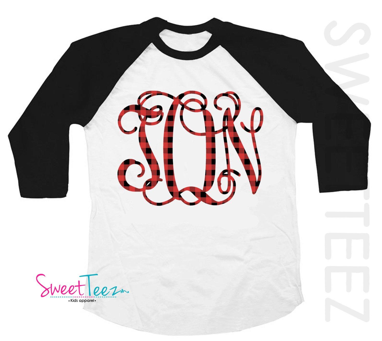 girls monogram shirts