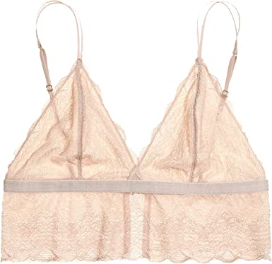 fc4fea97cf Madewell Lace Liana Longline Bralette Nude at Amazon Women s ...