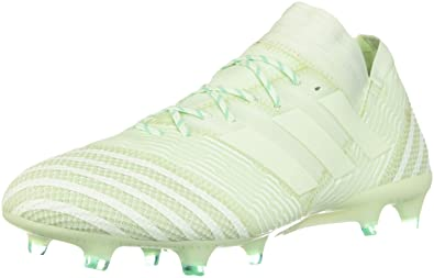 4801c9cc9 adidas Mens Nemeziz 17.1 Firm Ground Soccer Athletic Cleats Green 6.5