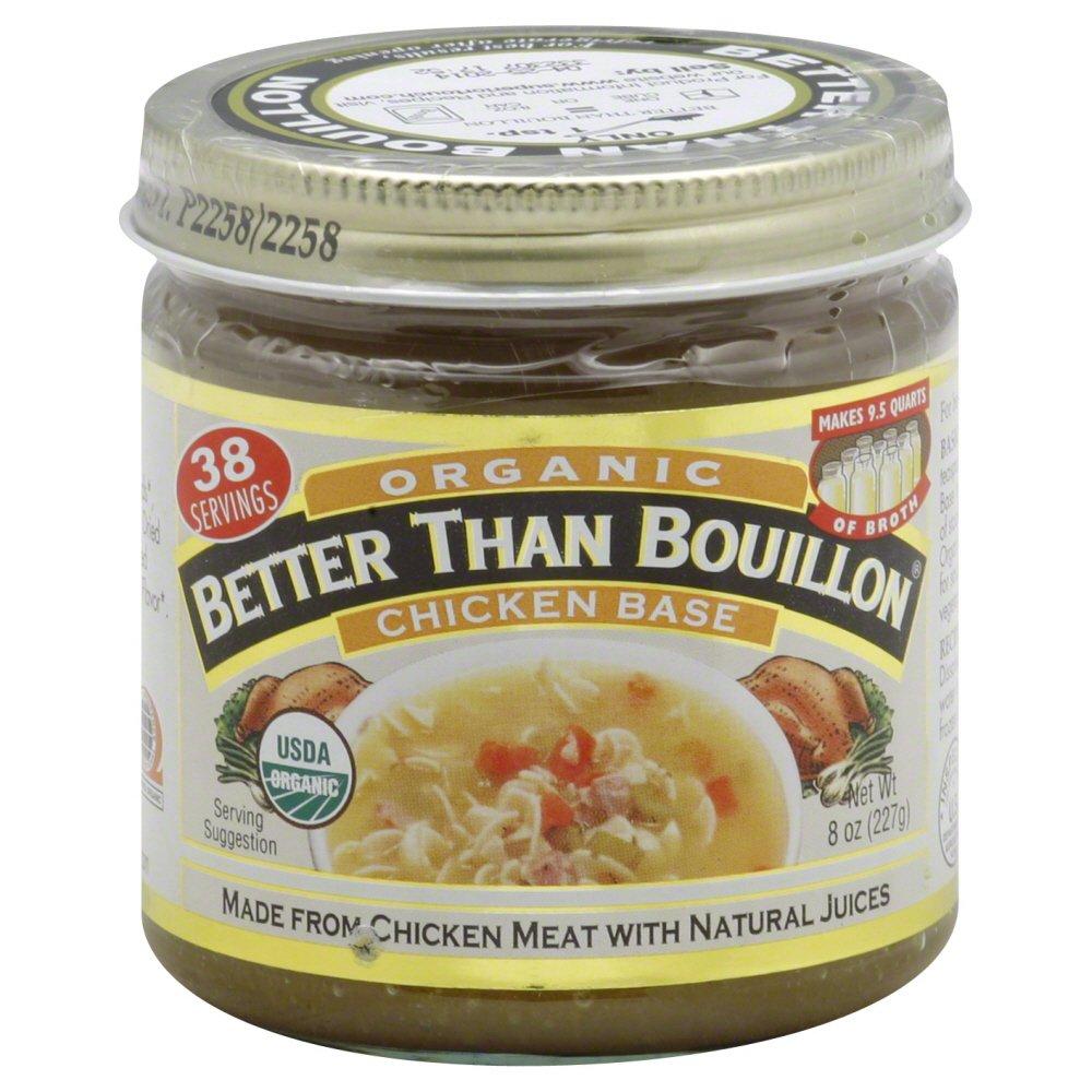 Better Than Bouillon Base Organic Chicken 8.0 OZ (Pack of 3)