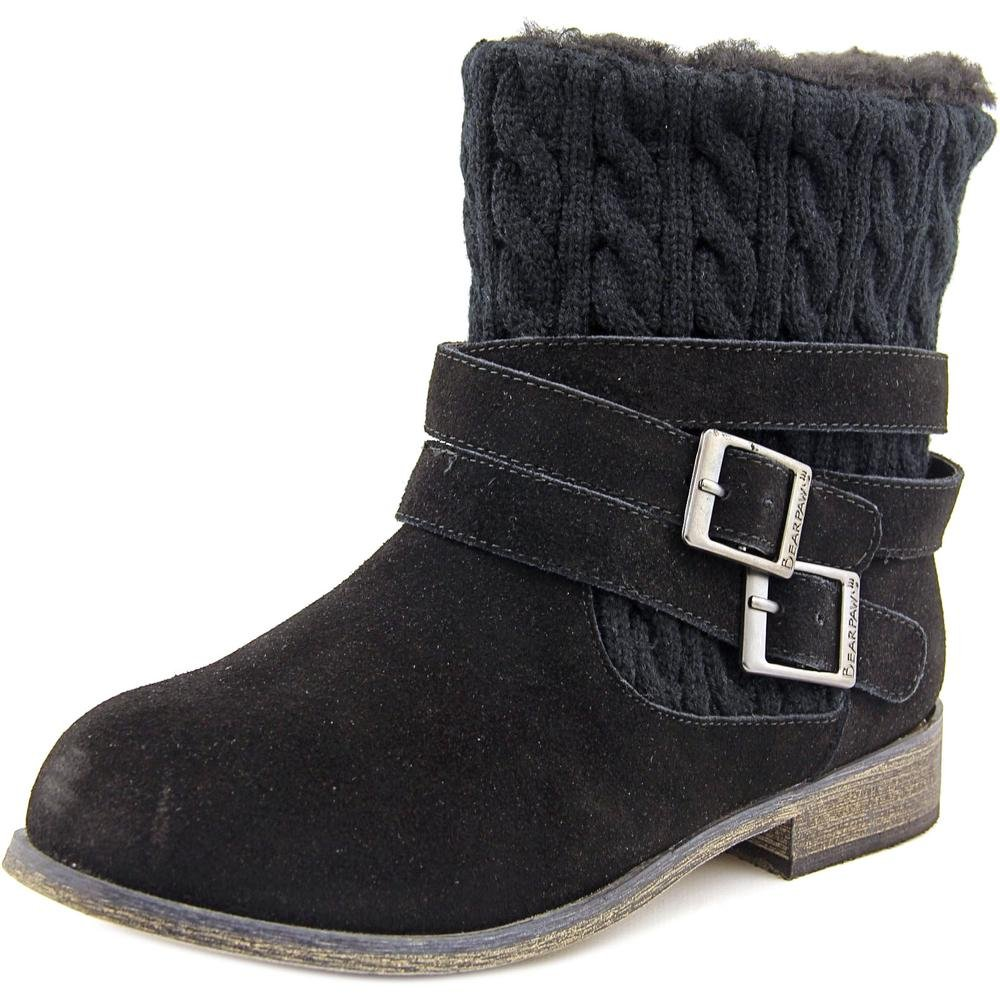 BEARPAW Womens Shania Boot B00WM2U3EM 11 B(M) US|Black