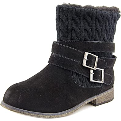 BearPaw Womens Shania Boot Black Size 6
