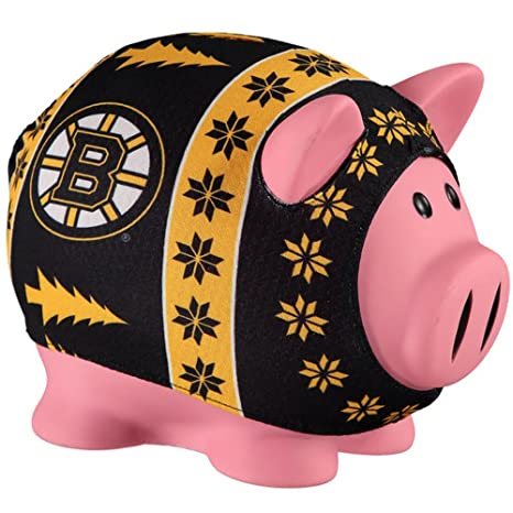 Amazon.com   Boston Bruins Sweater Pig Bank   Sports   Outdoors 28a15fc55