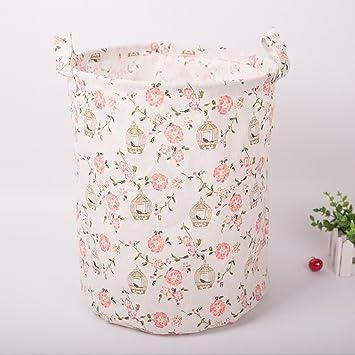 Vestir ropa cesta cesta de la ropa plegable cesta de la ropa plegable IKEA juguete ropa de almacenamiento de la caja de lavandería canasta cesta,UN: ...