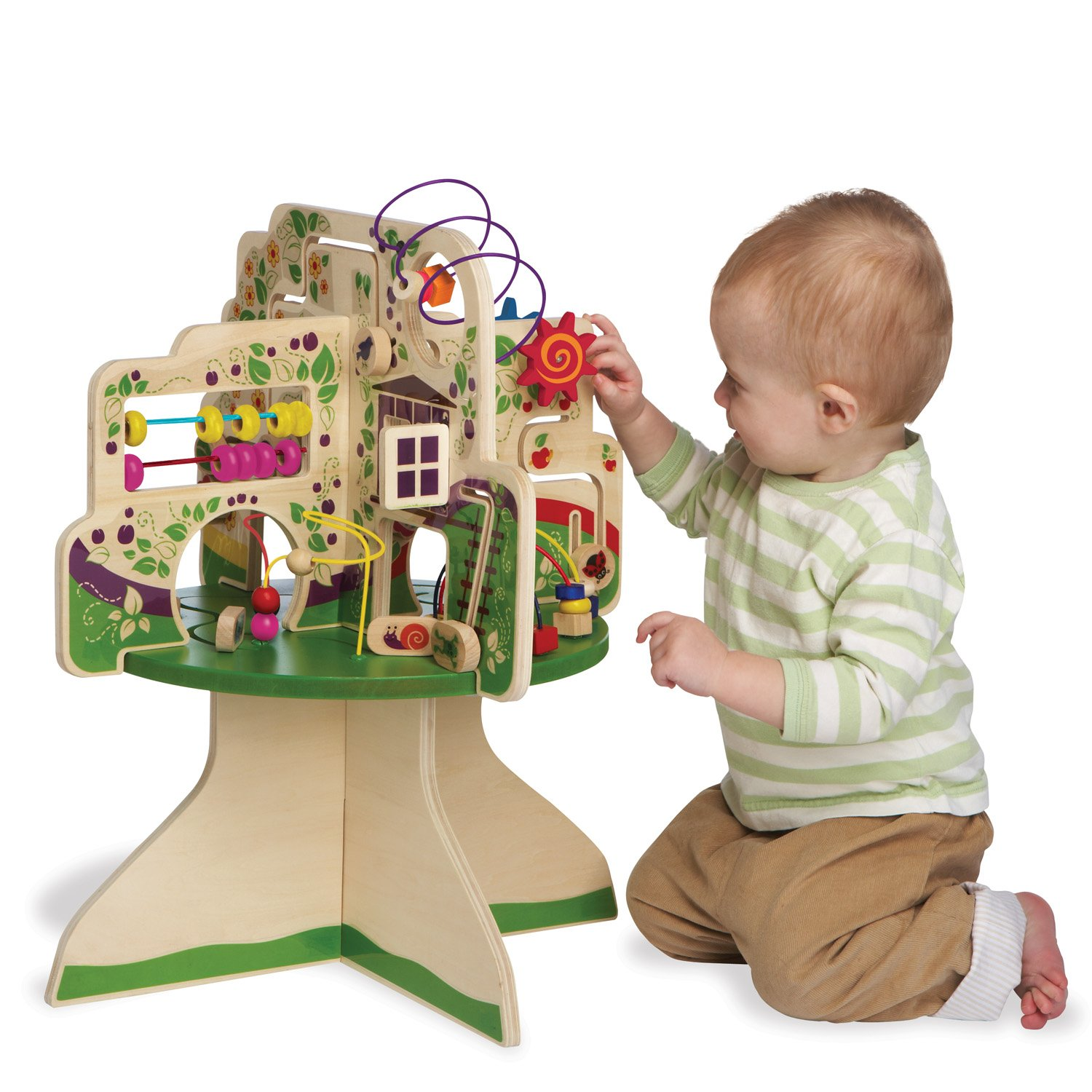 Amazon.com: Manhattan Toy Tree Top Adventure Activity Center: Toys U0026 Games