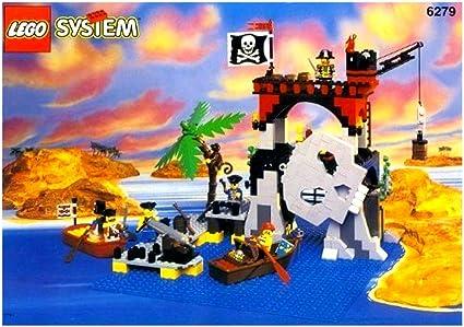 LEGO 6279 - Isla de Calavera Pirata: Amazon.es: Juguetes y juegos