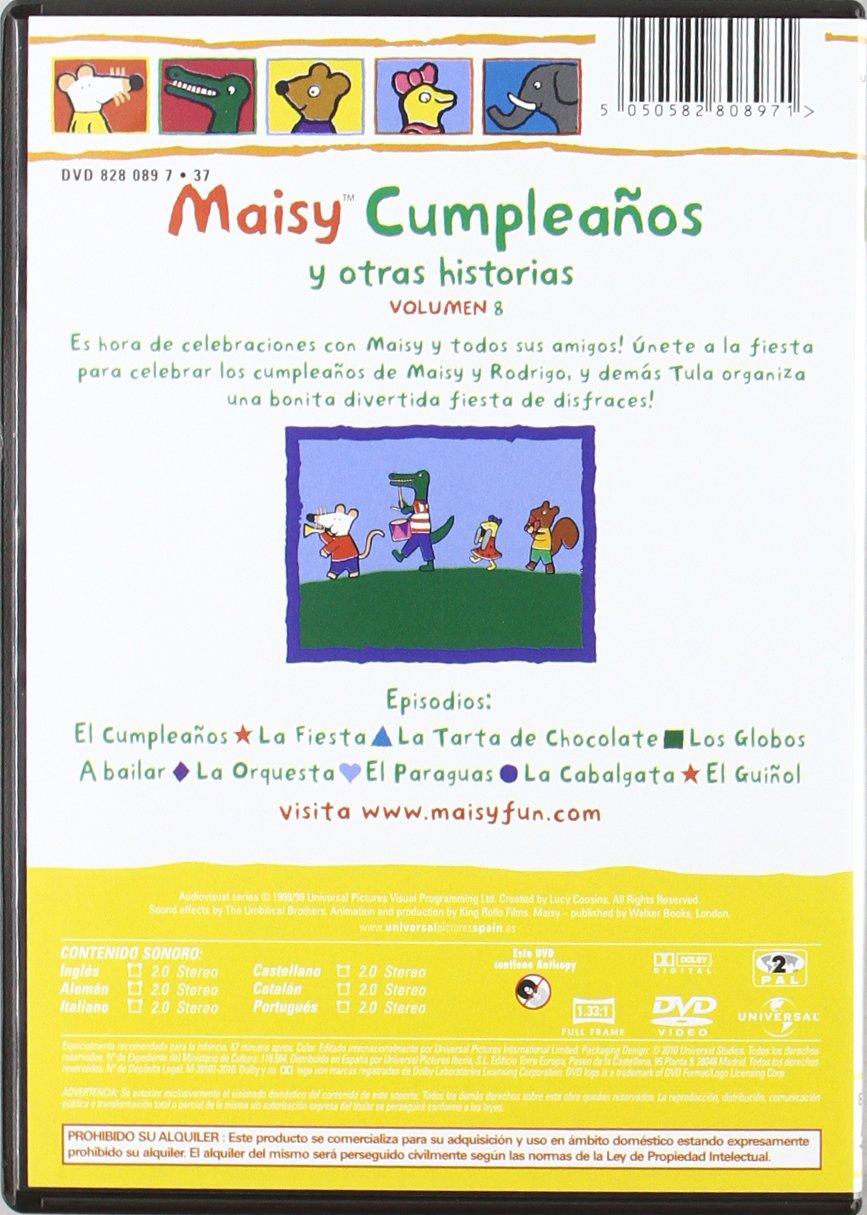 Amazon.com: Maisy (Volumen 8) (Import Movie) (European Format - Zone 2) (2010) Varios: Movies & TV