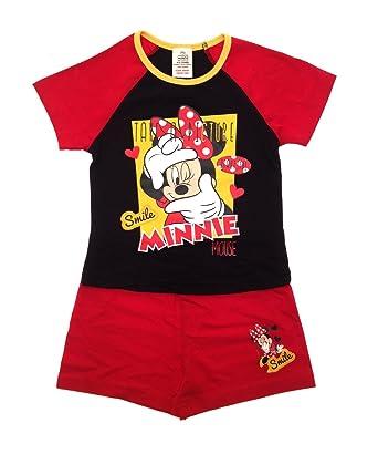 24c1481c4c0a8 Disney NEUF enfants filles enfants officiel Minnie Mouse Mickey Mouse  Clubhouse Short pyjama pyjamas ensemble  Amazon.fr  Vêtements et accessoires