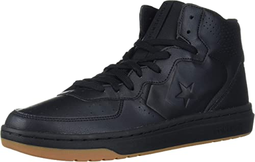 Converse Unisex's Rival Leather Mid Top