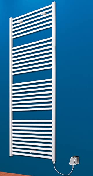 Badheizkörper Elektrisch Toskana 153x60 Cm Design Heizkörper Bad Weiß Vom  Renovierungsprofi, 4056397001812