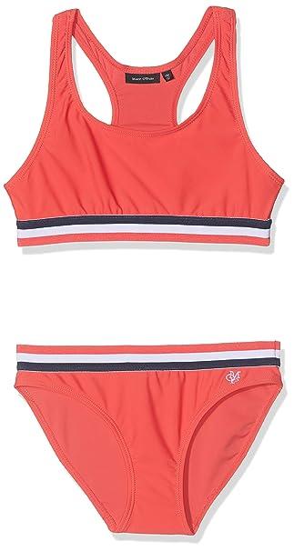 Marc O Polo Kids Bikini Conjunto de baño para Niñas: Amazon.es ...