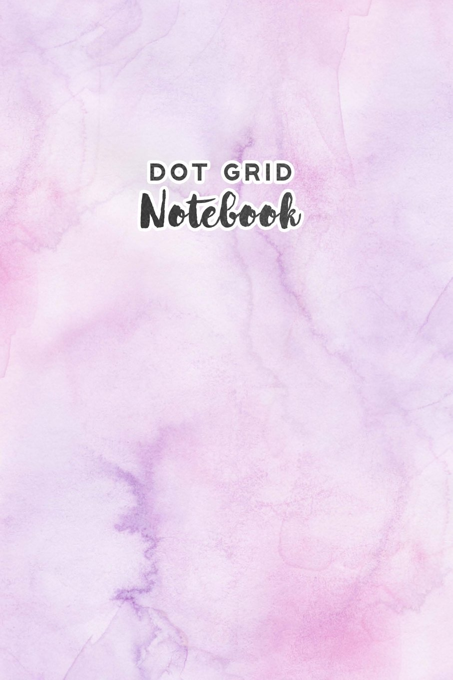 Download Dot Grid Notebook: Bullet Journal Pink Purple Watercolor Notebook Dotted Pages Small Planner Journal Sketchbook Diary (6 x 9) Softbound Cover (Bullet Journals) pdf