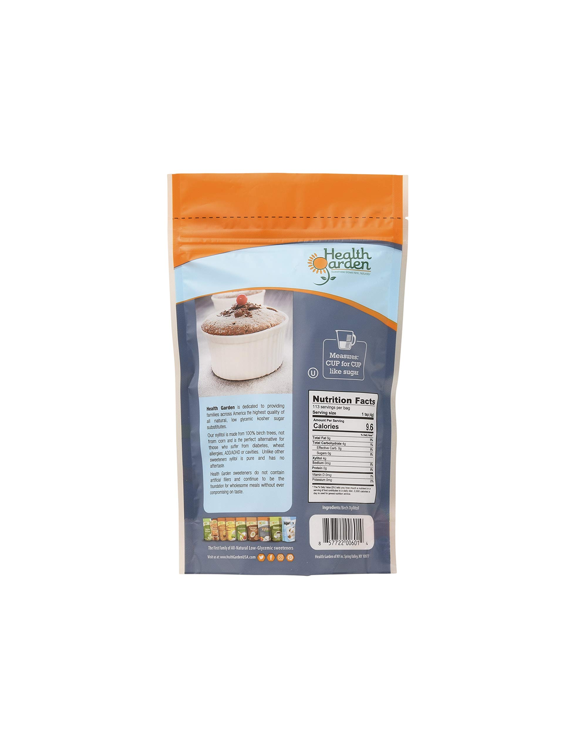 Health Garden Birch Xylitol Sugar Free Sweetener, All Natural Non GMO, Not from Corn by HEALTH GARDEN (Image #2)