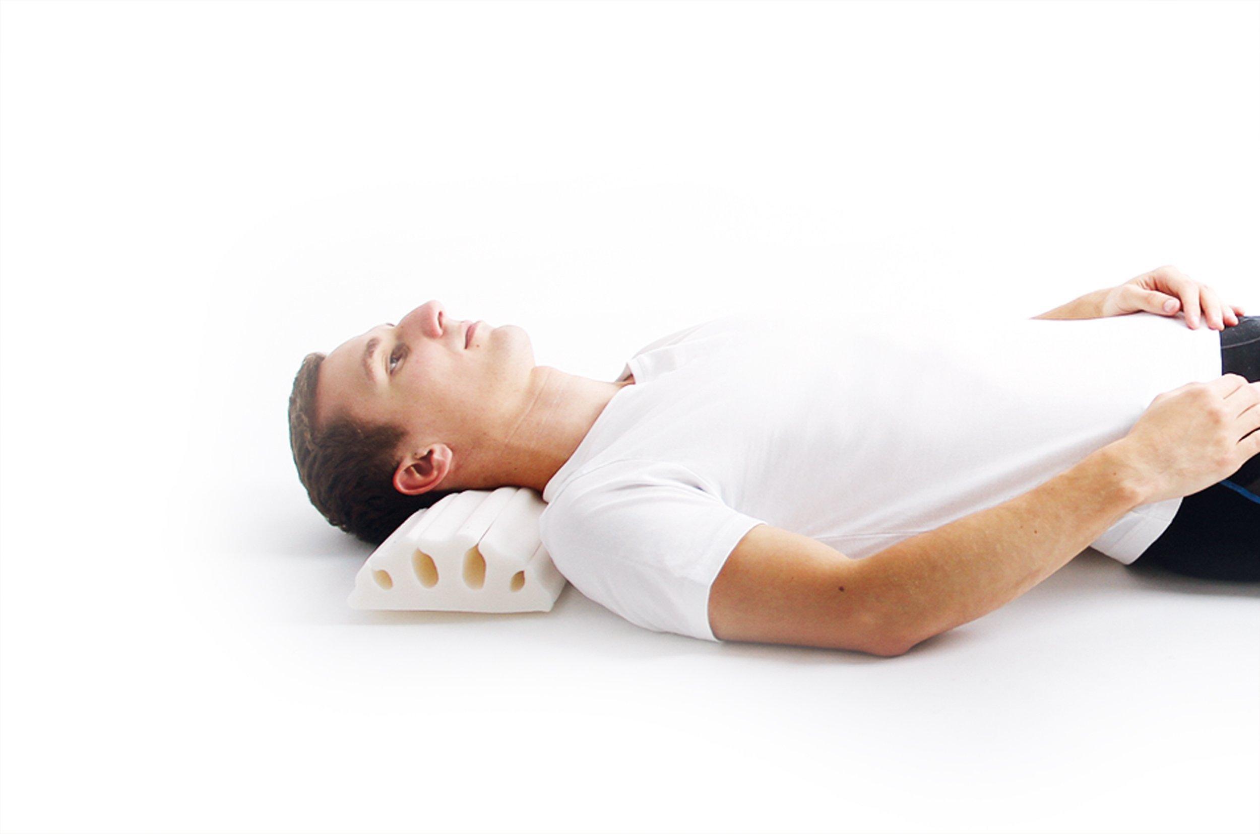 Detensor Cervical Support Neck Traction Pillow Roll