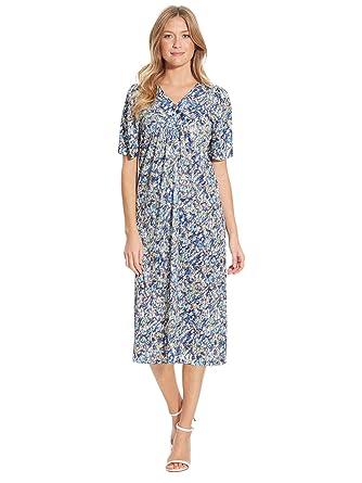 9ffac83450 Charmance - Robe housse imprimée - femme: Amazon.fr: Vêtements et  accessoires