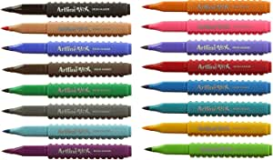 Artline ETX Stix Brush Connecting Pens - Pack 16