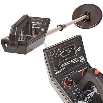 VOSS.garden Detector de Metales HD 3500 con Bobina de búsqueda a Prueba de Agua + 6 Pilas 1, 5V AA: Amazon.es: Jardín