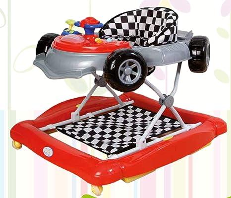 Andador y balancín para bebé, diseño fórmula 1 rojo. Tacatá ...